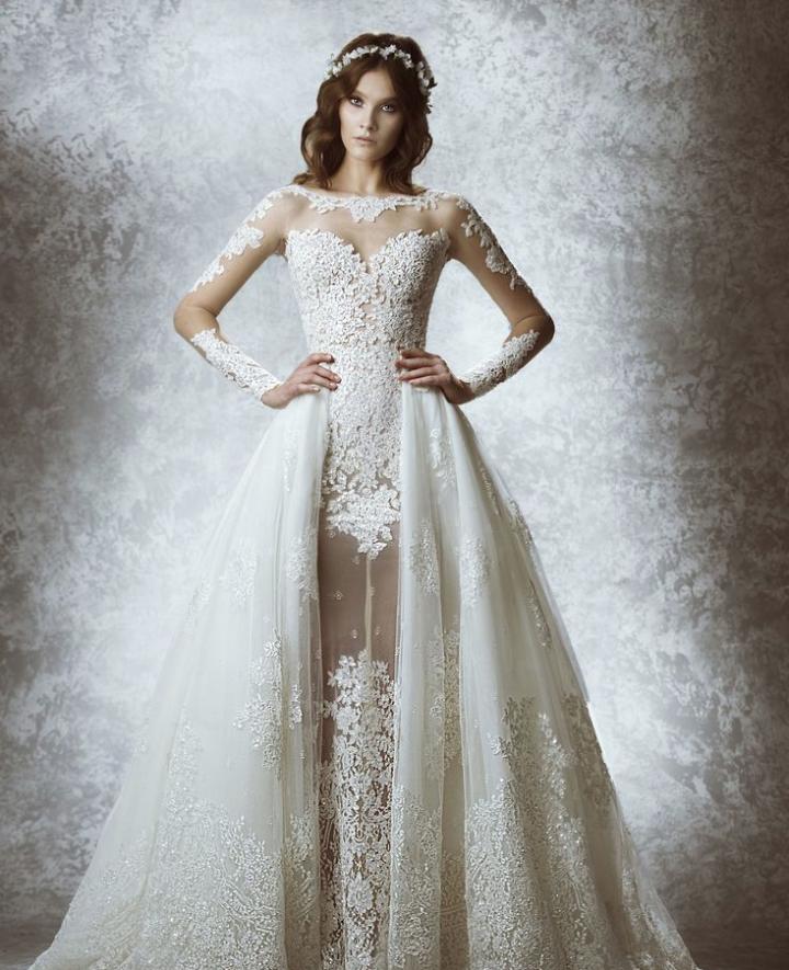 Zuhair Murad Wedding Dresses 2015 Fall - MODwedding