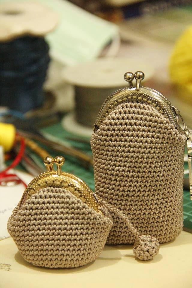 gamaguchi coin purses | Crochet Coin Purse | Pinterest | Tasche ...