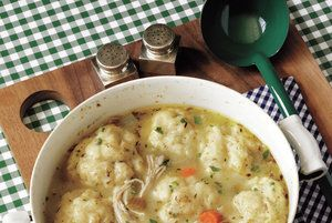 Classic Chicken and Dumplings  | 16 Seriously Satisfying Meals for Cold Weather | Real Simple