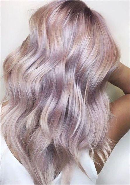 30 Pretty In Pink Hair Colors And Styles We Love Rose Haarfarbe Altrosa Haar Und Coole Haarfarben