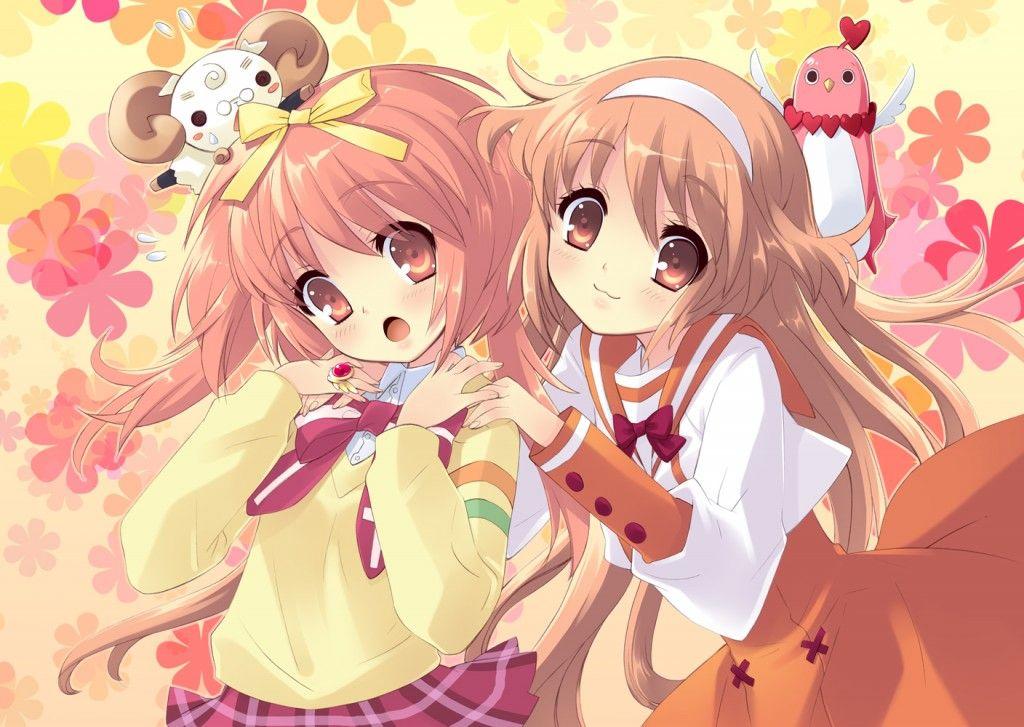 Tổng hợp hình nền anime dễ thương dành cho bé gái