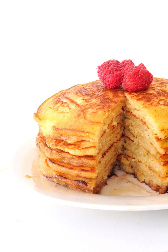 Fluffy American Pancakes Recipe Food American Pancakes What S For Breakfast