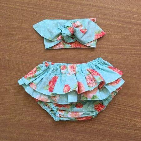 Calcinha com Laçarote Loja Laço de Menina 45 | Vestidos