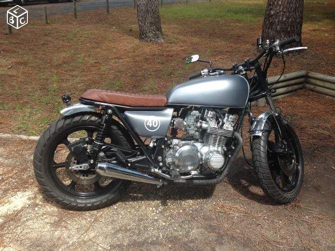 Moto Kawasaki Z 650 Scrambler