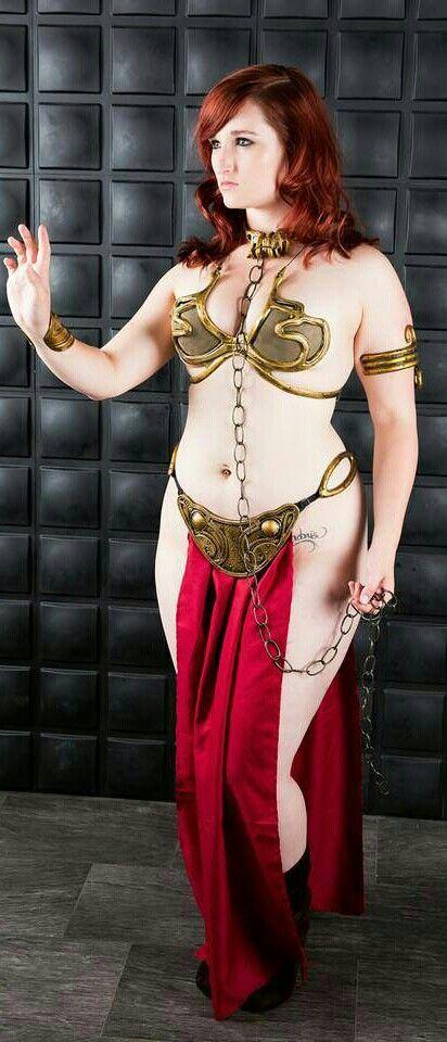 slave leia cosplay