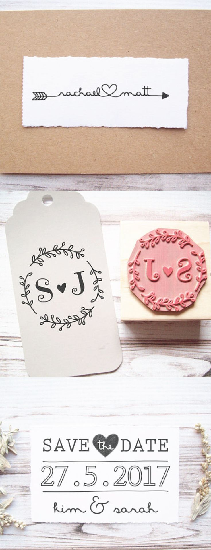 This is a great money saving idea personalized stamp for your