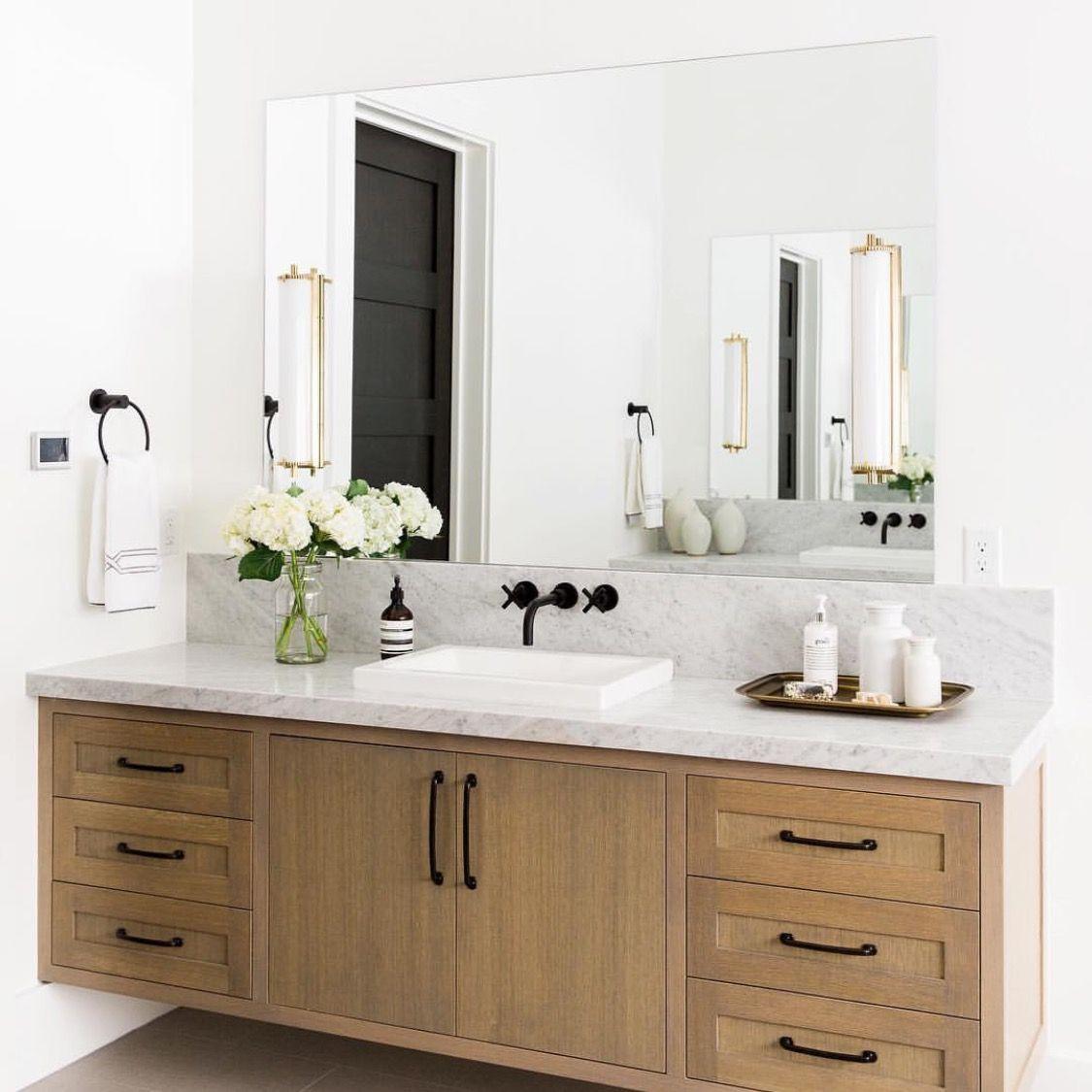 Pin by Dulcie Segooa on nice | Pinterest | Wood vanity, Vanities and ...