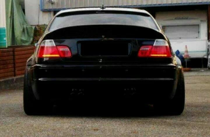 Bmw E46 M3 Black Stance With Images Bmw E46 Sedan Bmw E46