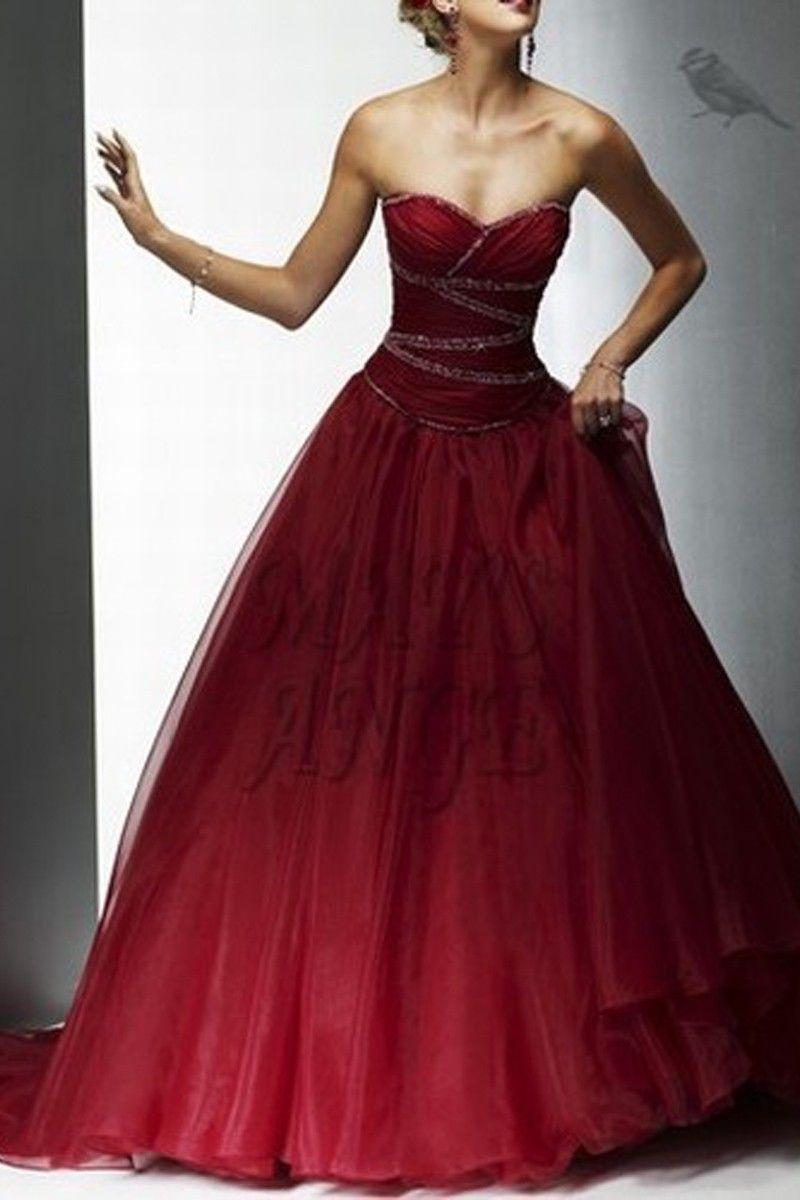 rouge cerise robe de demoiselle d 39 honneur maysange robes pinterest rouge cerise. Black Bedroom Furniture Sets. Home Design Ideas