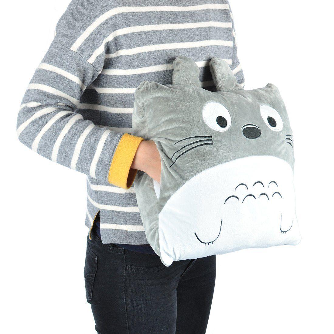Meinnachbartotoro Kuschelkissen Und Decke Von Totoro
