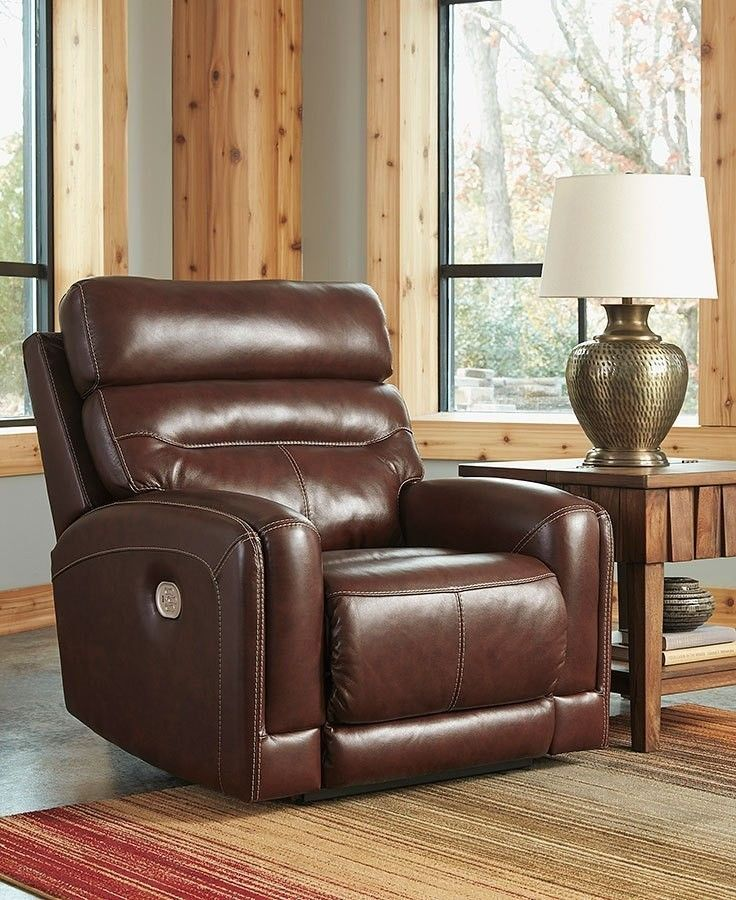 Sessom Walnut Power Recliner (With images) Power