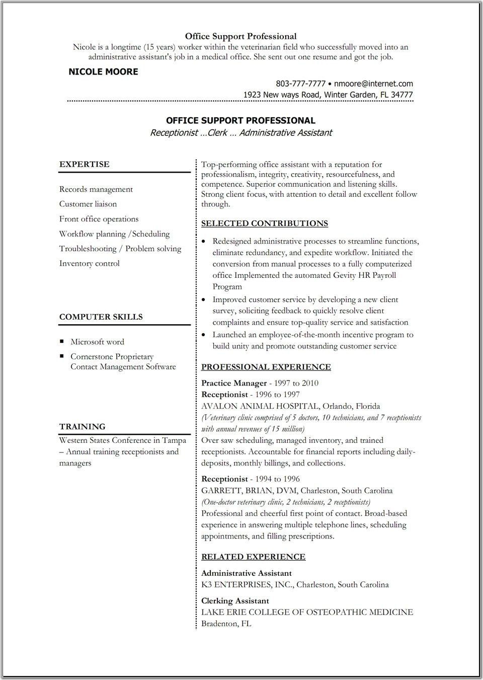 Office 365 Resume Templates Sample