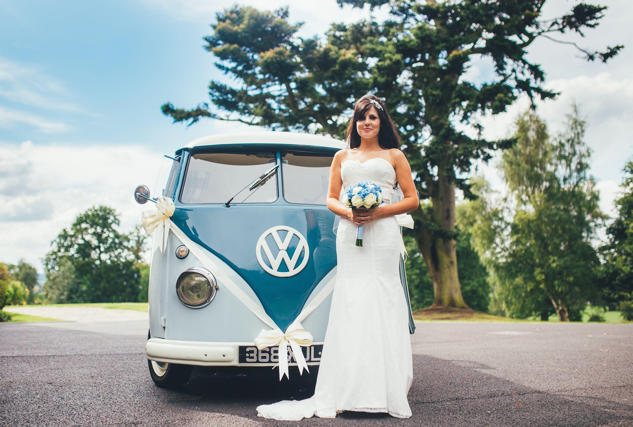 Blue Pumpkin VW Wedding Hire . Beach themed wedding car for ...