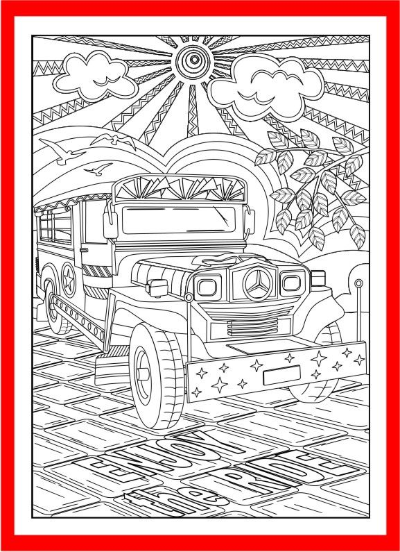 Set Of 3 Christmas Coloring Pages Yuletide Gifts Toys Lantern