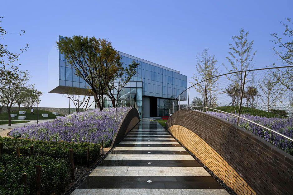 Bam Award Winning Art Landscape Architectural Design Vanke Daxing Showroom Landscape Urban Landscape Daxing