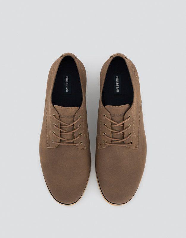 998a5fab9c01c Pull Bear - hombre - calzado - ver todo - zapato slim - cuero -  17380112-I2016