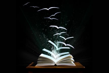 Stories and words set the soul free.