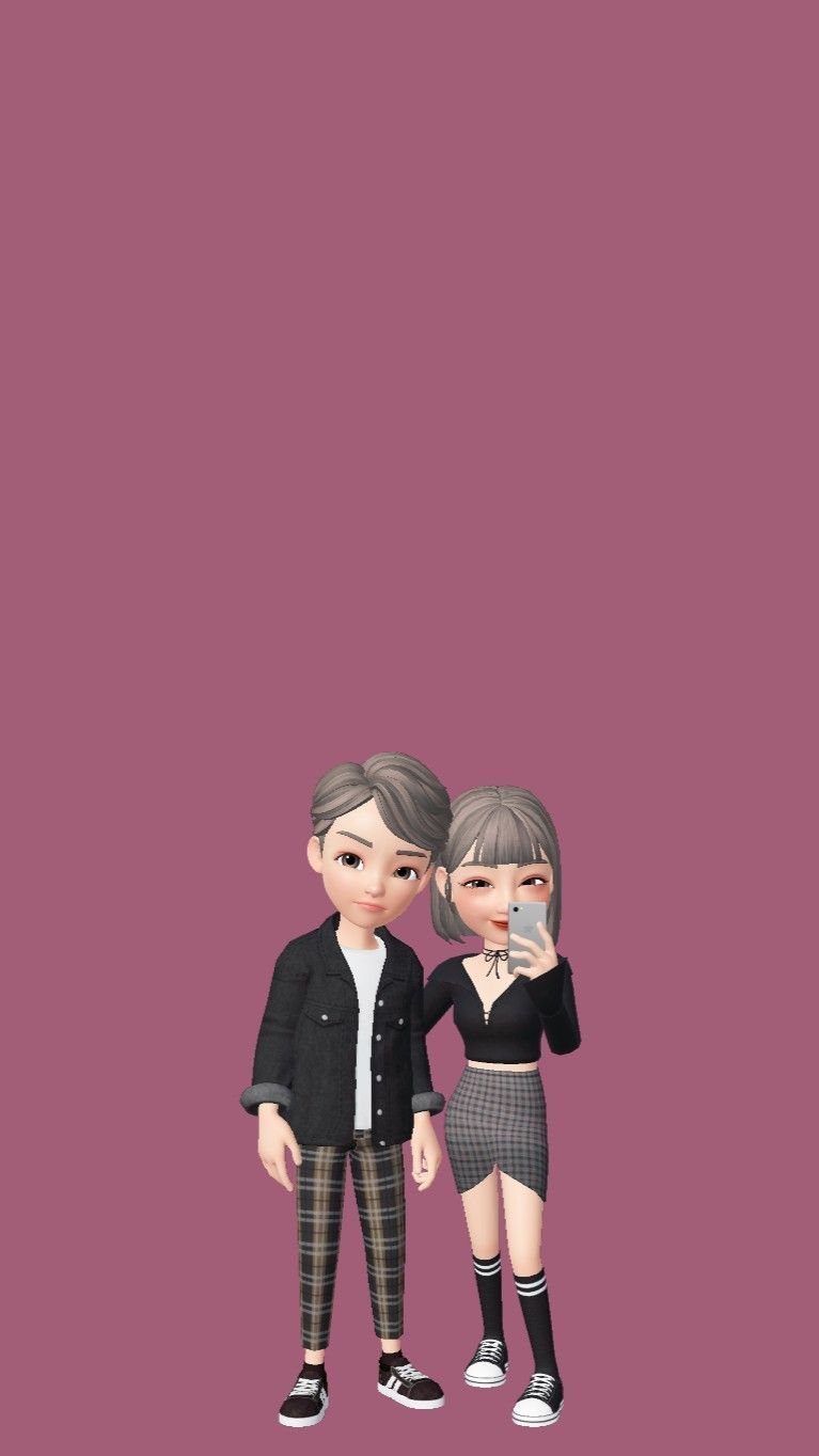 Wallpaper Zepeto Couple Wallpaper Zepeto Cute Cartoon Wallpapers Cute Cartoon Images Cute Love Cartoons