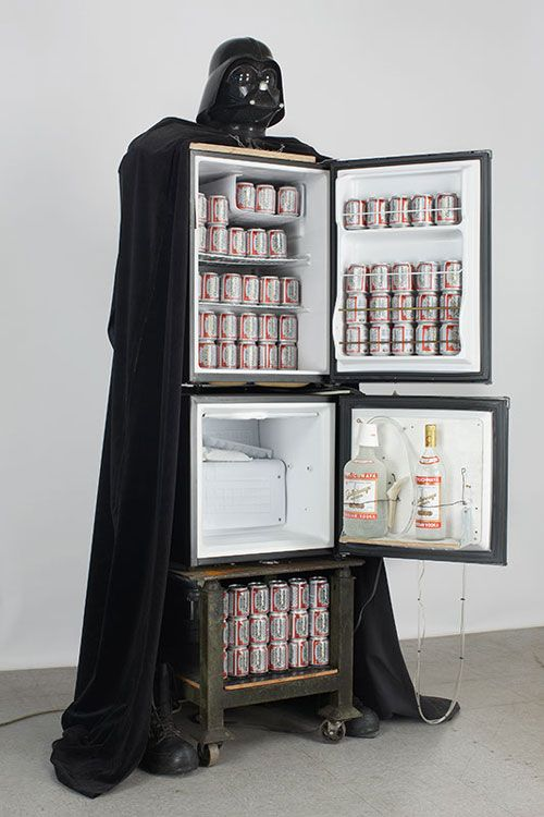 How cool is this Refridga-Vader?