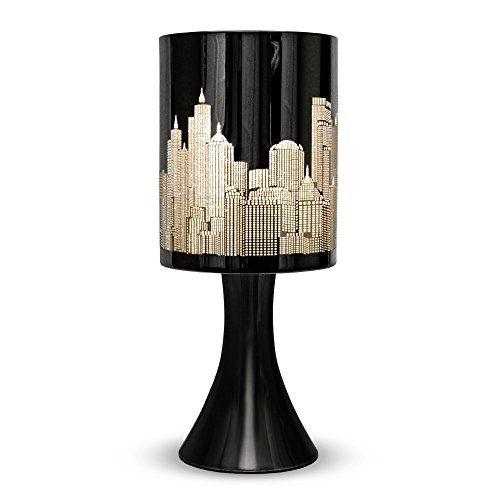 Minisun Horizon New York Lampe De Table Chevet Touch