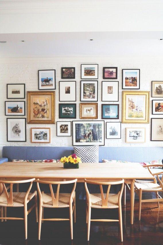 Marcos de cuadros y disposiciòn de cuadros en la pared | Cuadros ...