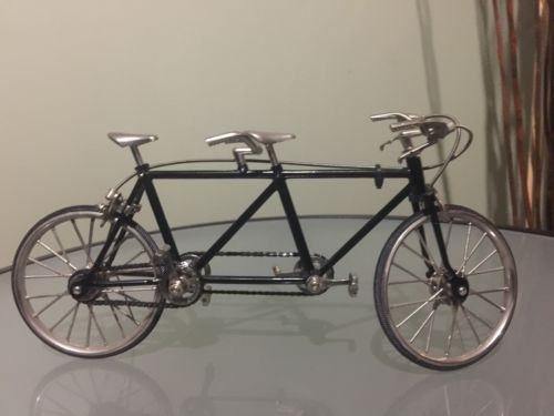 Miniature Die Cast Replica Tandem Bicycle Built For 2 1 10scale