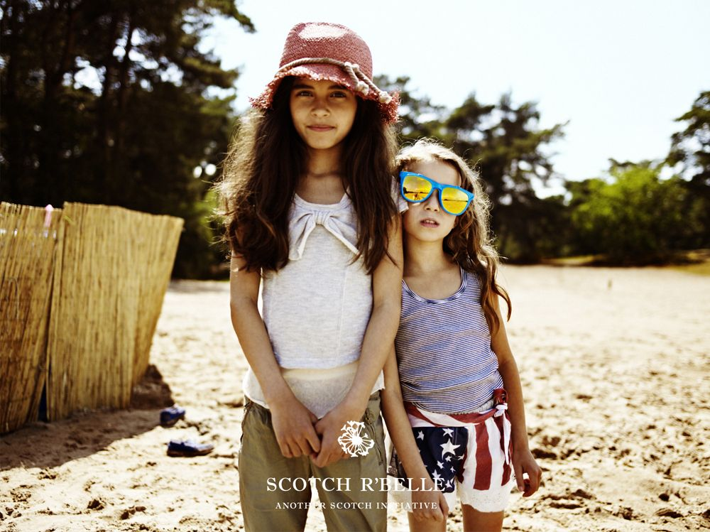 Scotch R'Belle Spring / Summer 2012 collection for girls by Scotch & Soda