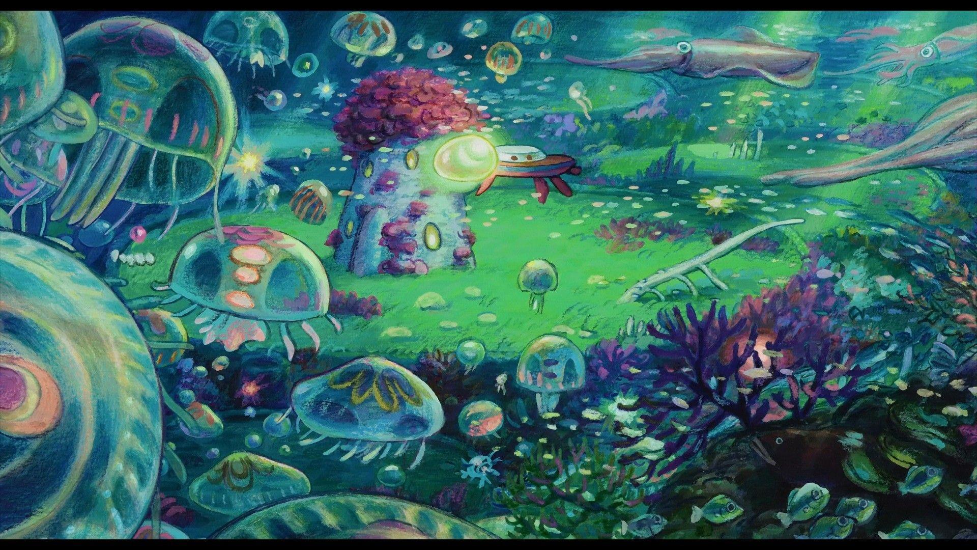 Ponyo Computer Wallpapers Desktop Backgrounds 1920x1080 Id 420279 Studio Ghibli Art Studio Ghibli Ghibli Art