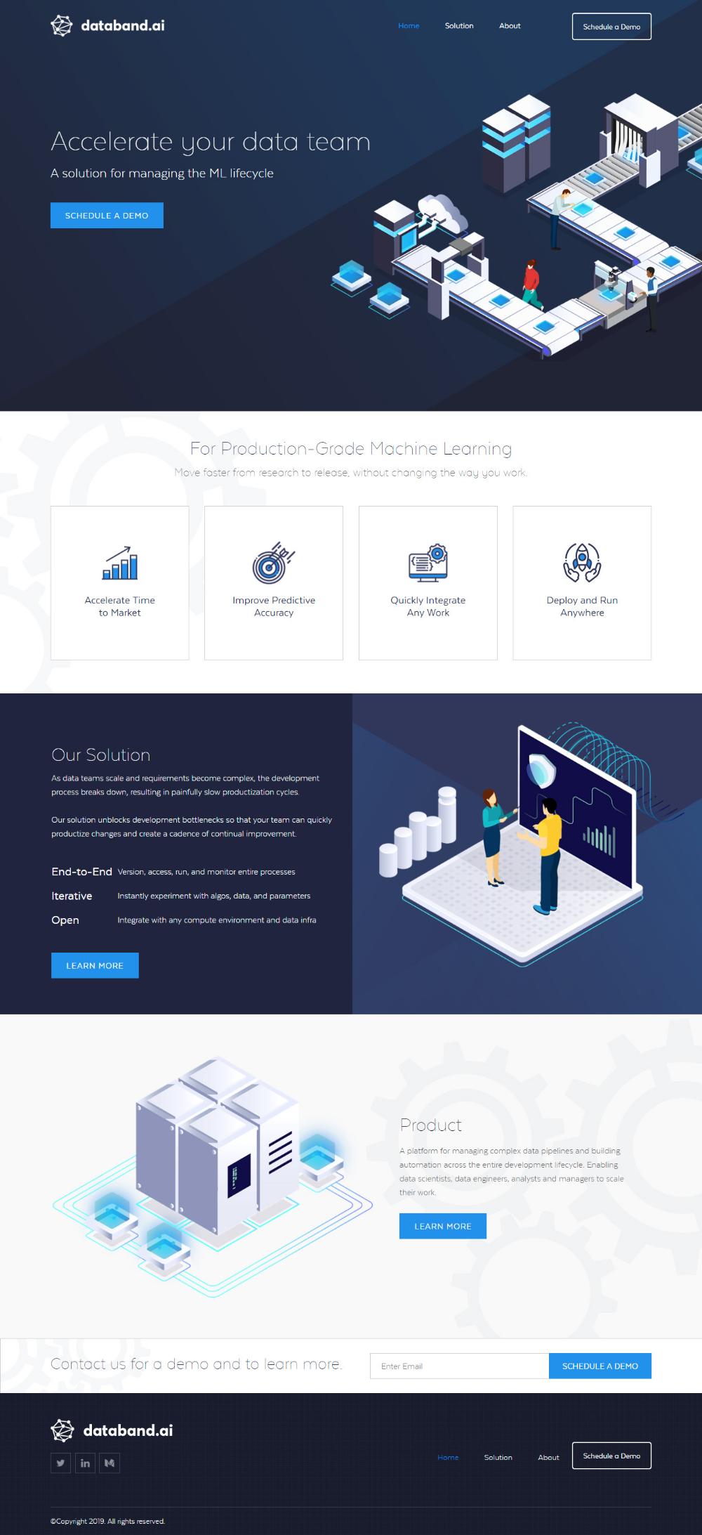 Databand Web Design Web Design Pricing Website Redesign