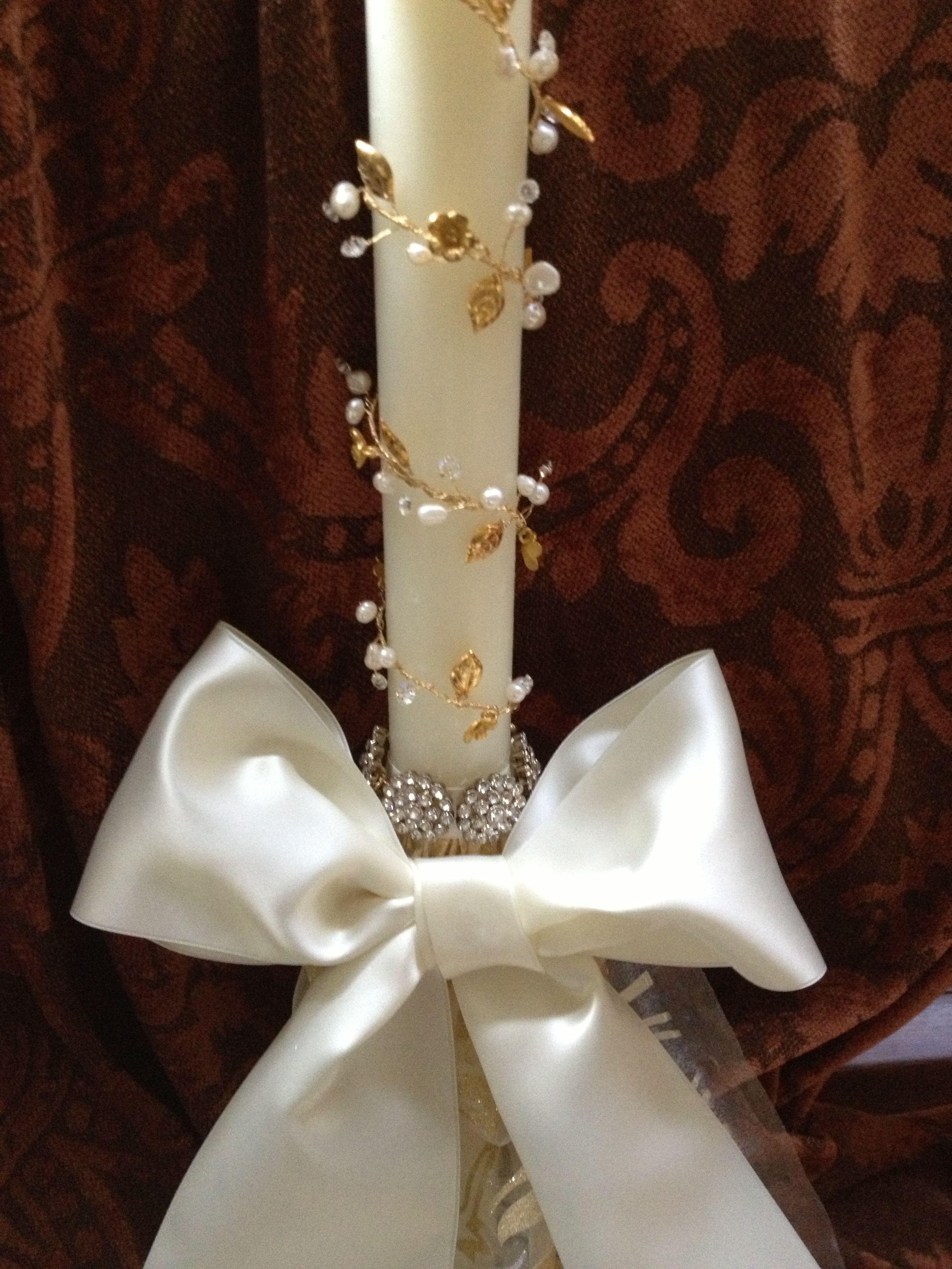 Greek Orthodox Wedding Ceremony Candles | CEREMONIES in 2019