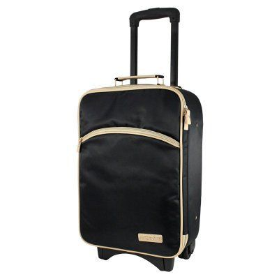 Jacki Design Essential Carry On Rolling Luggage - ABC14106BK1