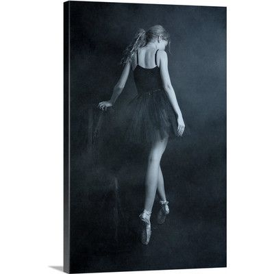"""Canvas On Demand On Tip Toes by Olga Mest Photographic Print on Canvas Size: 36"""" H x 24"""" W x 1.25"""" D"""