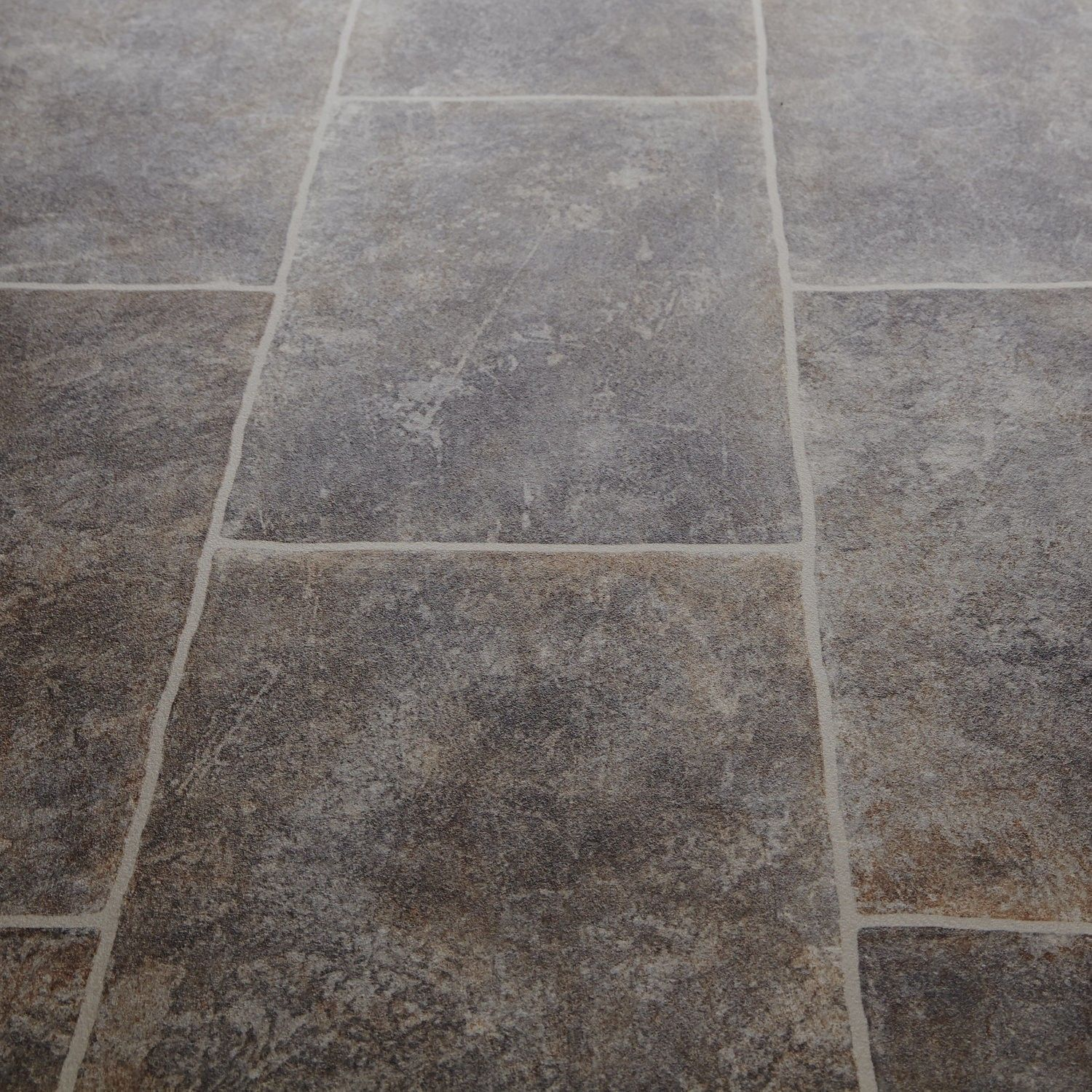 Bounce 94 everest stone tile vinyl flooring kitchen for Vinyl kitchen floor tiles