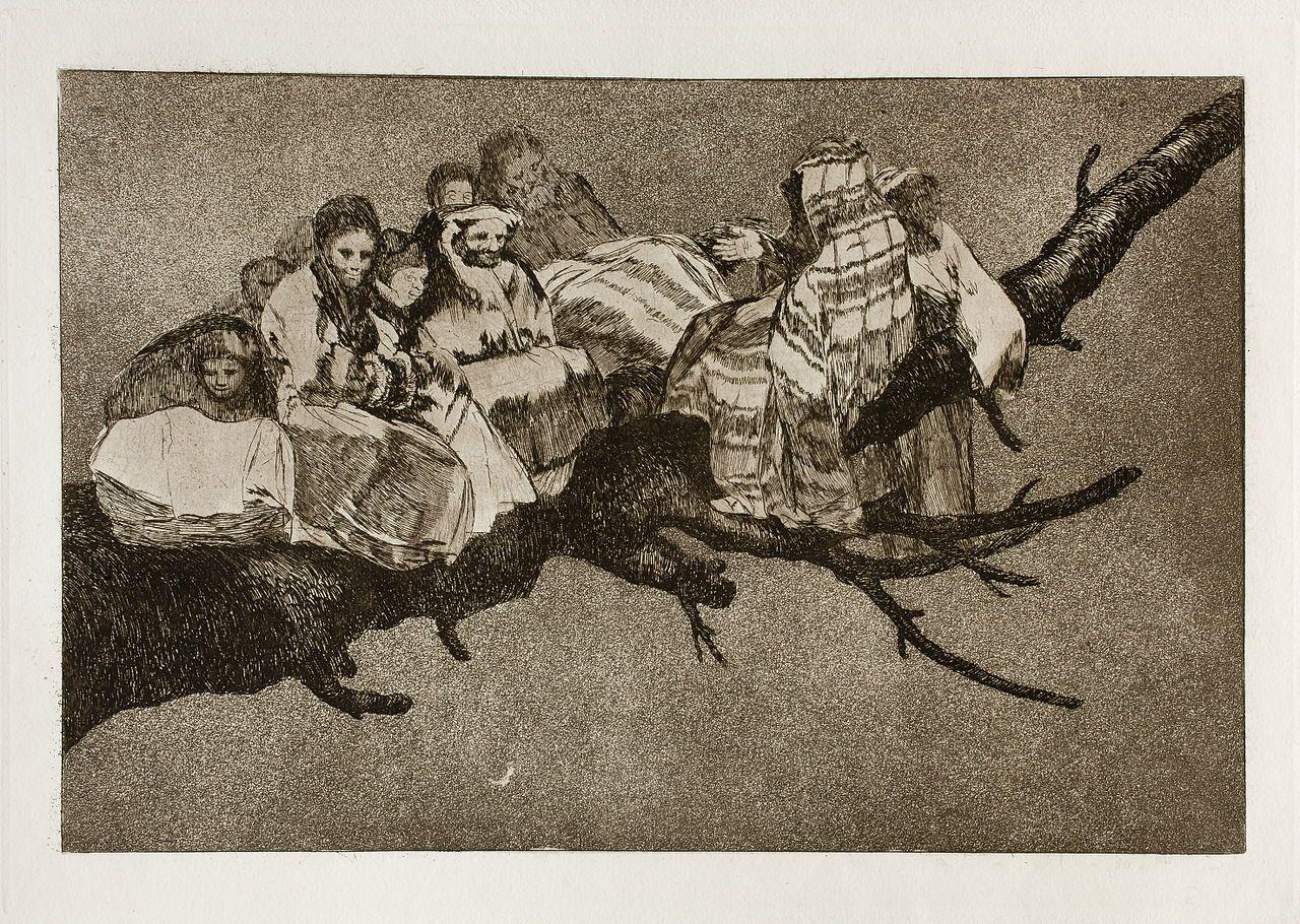 Prado - Los Disparates (1864) - No. 03 - Disparate ridículo - Los disparates - Wikipedia, the free encyclopedia