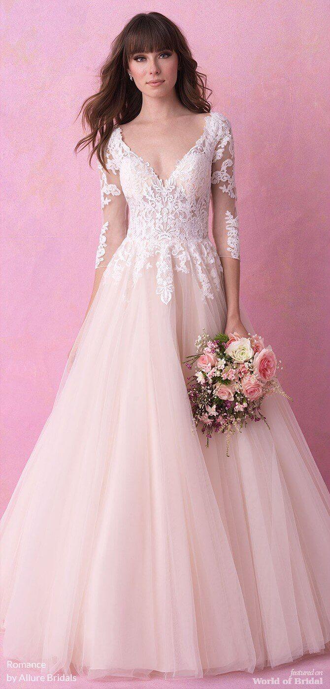 Allure wedding dress  Romance by Allure Bridals Fall  Wedding Dresses  Ball Gown