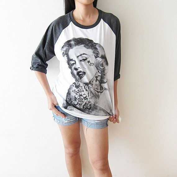 Marilyn Monroe TShirt American Hollywood Actress by TheRockerShop, $15.99