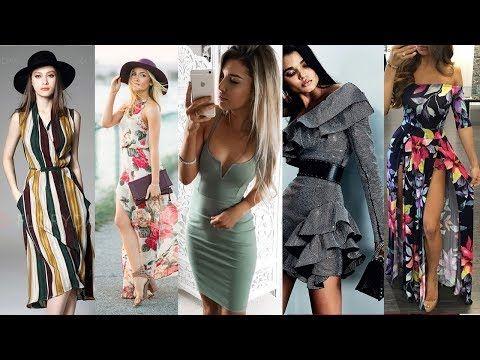 f662b83f3 Faldas exclusivas moda 2017 2018 - YouTube