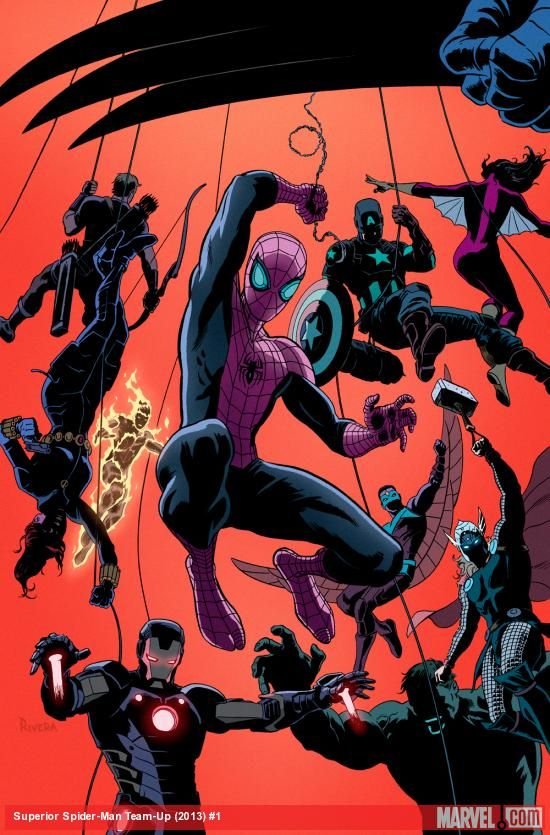 Check out this interview with Christopher Yost, writer of Scarlet Spider and Superior Spider-Man Team-Up, as he talks about bringing his webslingers together! http://marvel.com/news/story/20778/wednesday_qa_christopher_yost