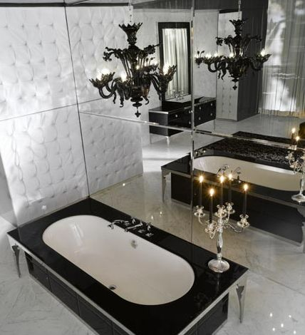Luxury Home Decor Pinterest Luxury, Gothic bathroom and Modern
