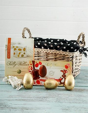 Buy sallys easter hamper online netgifts easter gifts and perfect chocolate gifts netflorist offers a range of chocolate gifts order today on south africas largest same day delivery service negle Gallery