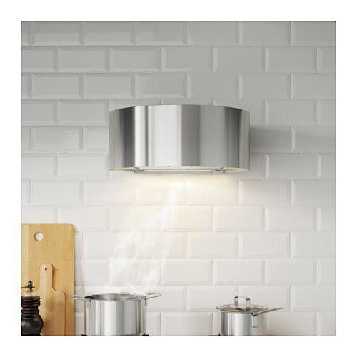 UDDEN Cappa da fissare alla parete, inox | Ikea, Cappe e Cucina