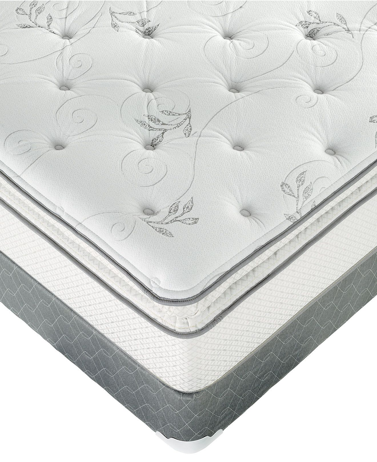 Macybed Full Mattress Grand Plush Super Pillowtop Full