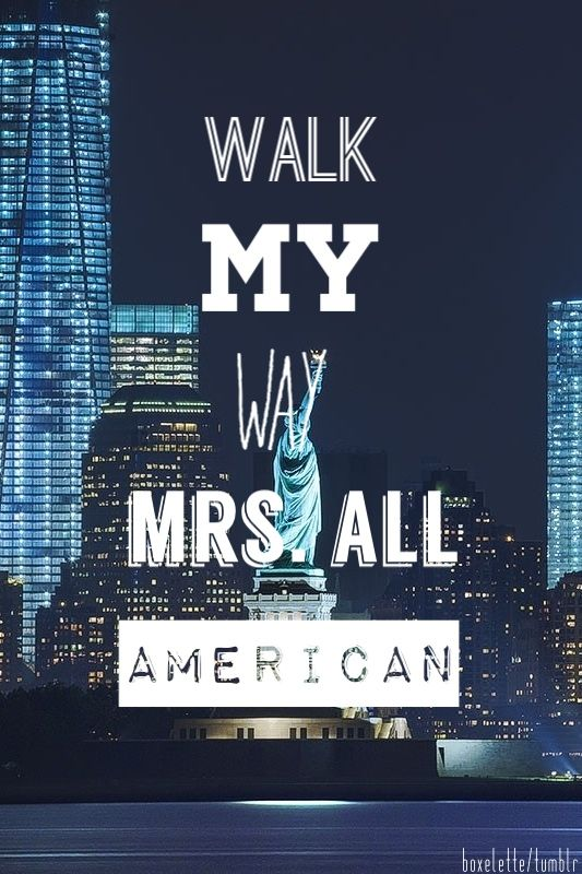 Say My Name No Need To Pretend Don T Be Shy Mrs All American