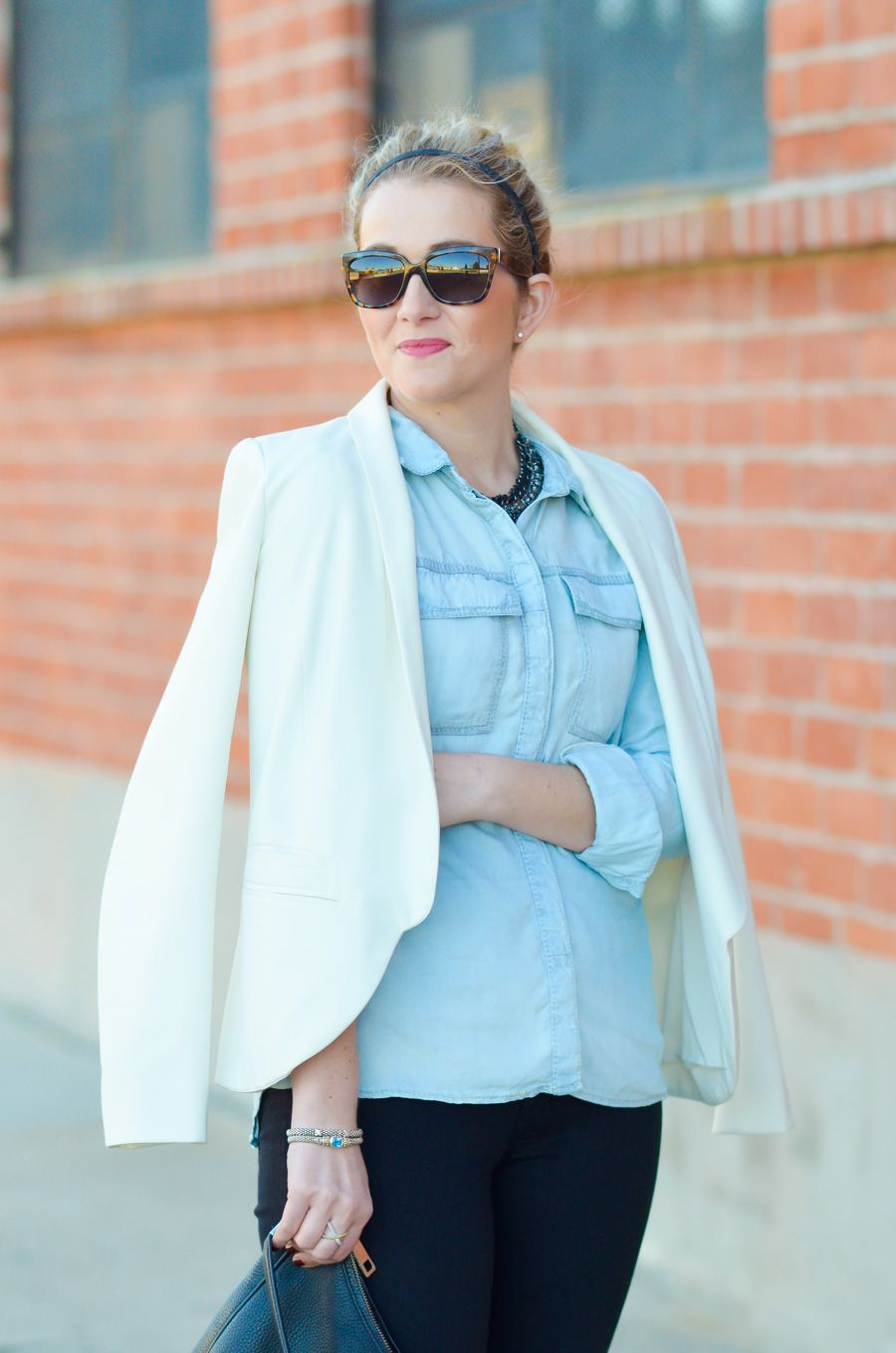 Blue Dreams   Silver Jeans | Shirts, Outfit and Chambray shirt outfits