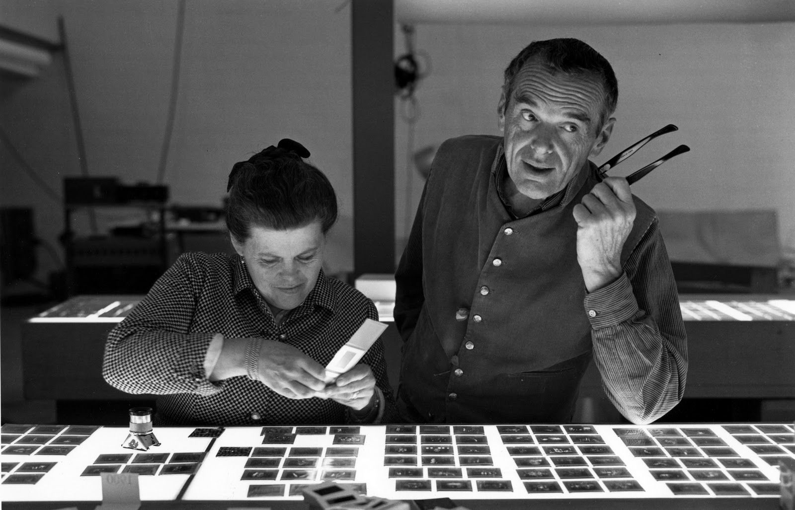 Ray and Charles Eames. Such an interesting couple.
