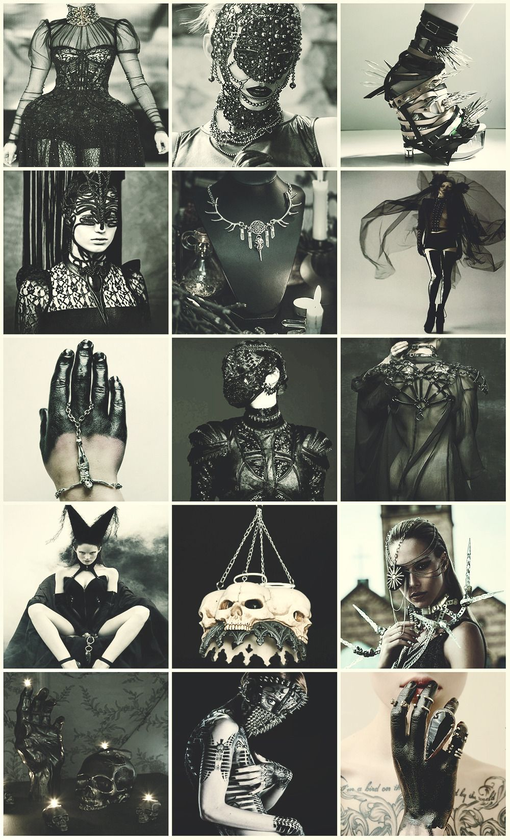 High Fashion Witch aesthetic | Macabre fashion, Witch ...