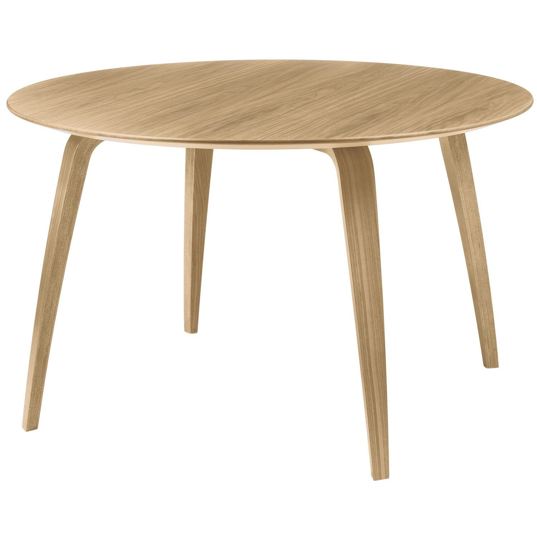 Gubi matbord, ek i gruppen Möbler / Bord / Matbord hos RUM21.se (129952)