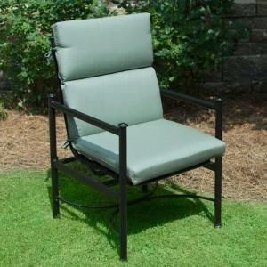 Plantation Patterns Hampton Bay Spa Blue Deluxe High Back Outdoor