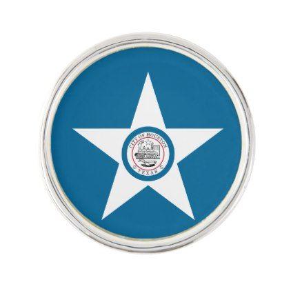 Flag Of City Of Houston Texas Pin White Gifts Elegant Diy Gift Ideas Lapel Pins Texas Lapel